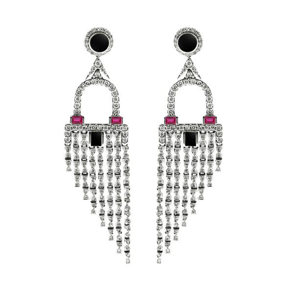 Deco Fringe Earrings
