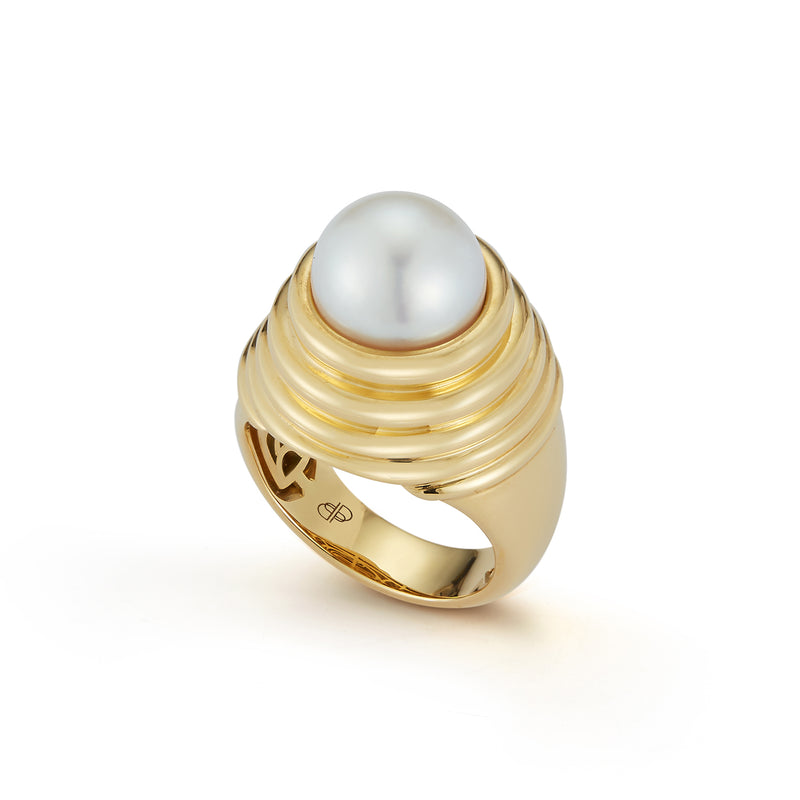 Honey Pearl Ring