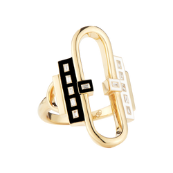 Open Pill Gloss Ring