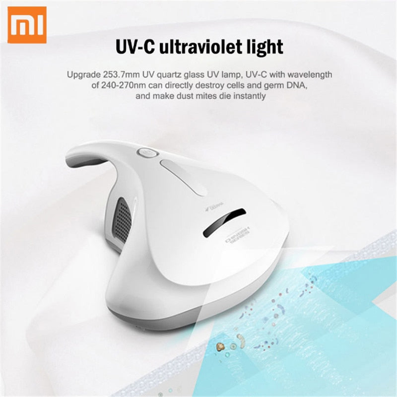 Xiaomi Deerma CM300S Vacuum Cleaner Hand-Held Electric Anti-Dust HEPA Vacuum Cleaner UV Mites Kill For Bed Mattress Pillow Sofa