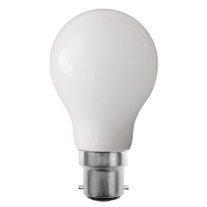 Globe LED Glass 8W 2700K Opal B22 Non-Dimmable