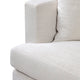 Birkshire 3 Seater Slip Cover Sofa - Off White Linen