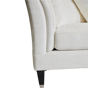 Tailor 3 Seater Sofa - Ivory Linen
