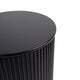 Nomad Round Side Table - Black