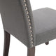 Lethbridge Dining Chair - Light Grey
