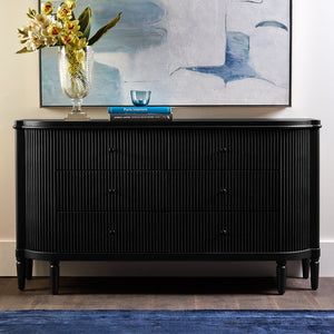 Arielle 6 Drawer Chest - Black