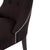 London Dining Chair - Black Linen