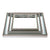 Zeta Mirror Tray - Small Antique Silver