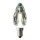 Globe LED Candle Crystal 4W 2700K Clear E14 Dimmable