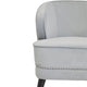 Hallie Occasional Chair - Grey Velvet