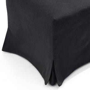 Brighton Slip Cover Dining Chair - Black Linen