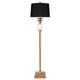 Langley Floor Lamp - Antique Gold