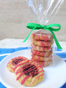 Berry Thumbprint Cookies Bag