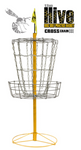 Hive Cross Chains Disc Golf Basket