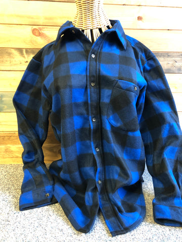Plaid Fleece Shirt