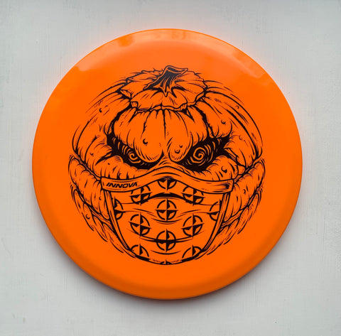 Innova Halloween Pumpkin w/Mask Star RocX3 172g