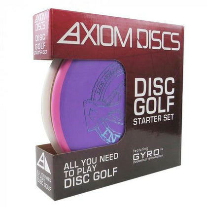 Axiom Premium Disc Golf Starter set