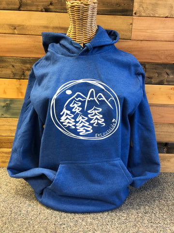 Get Outside Hoodie Royal