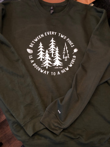 Between the Pines Crewneck SALE