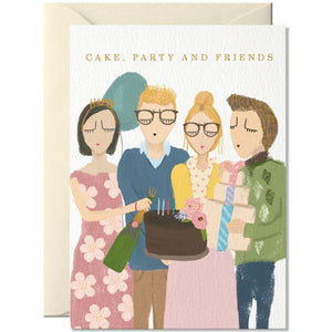 Cake, Party and Friends - Schmidt's Papeterie