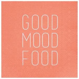 Serviette Good Food Mood - Schmidt's Papeterie