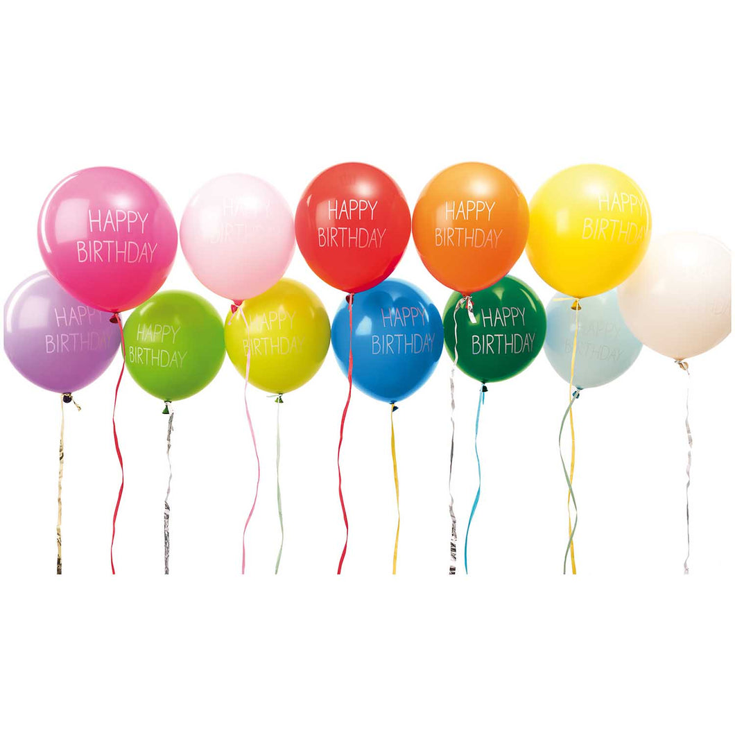 Ballons Mix Happy Birthday - Schmidt's Papeterie