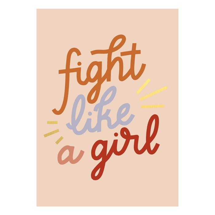 Fight like a girl - Schmidt's Papeterie