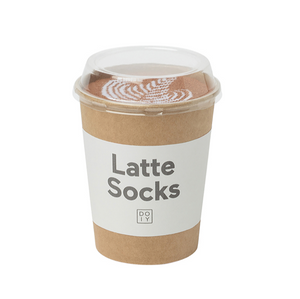 Latte Socks brown - Schmidt's Papeterie