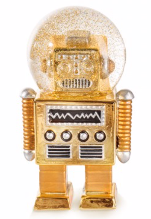 Summerglobe The Robot gold - Schmidt's Papeterie