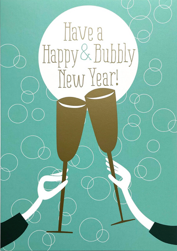 Have a happy & bubbly New Year! - Schmidt's Papeterie
