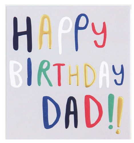 Happy Birthday Dad!! - Schmidt's Papeterie