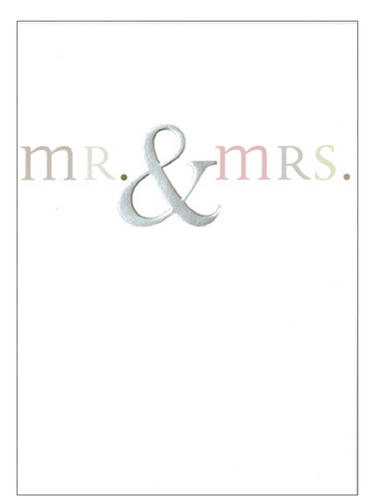 mr. & mrs. - Schmidt's Papeterie