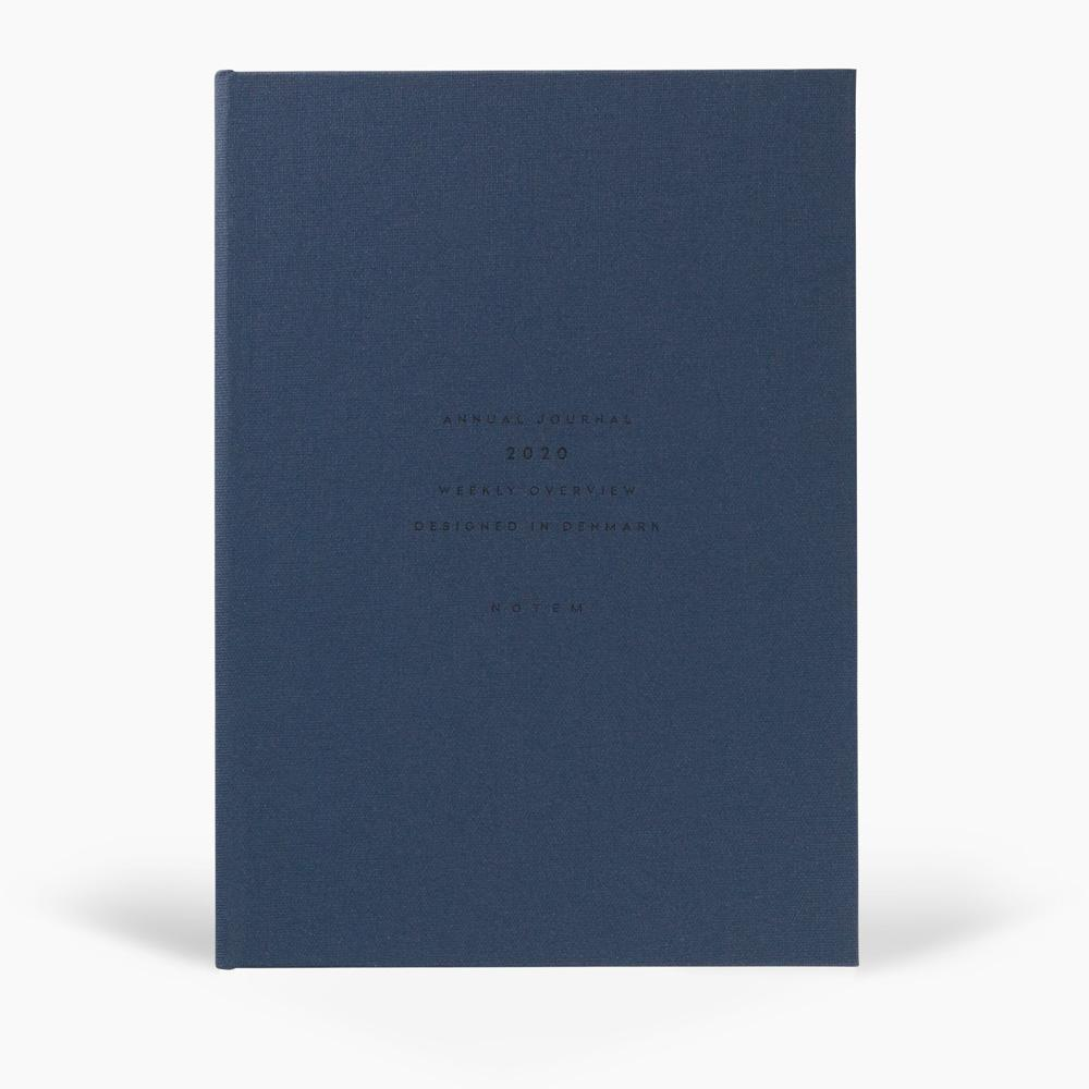 ALVA Annual Journal 2020, A5 Flat Lay Binding - Dark Blue Product Notem