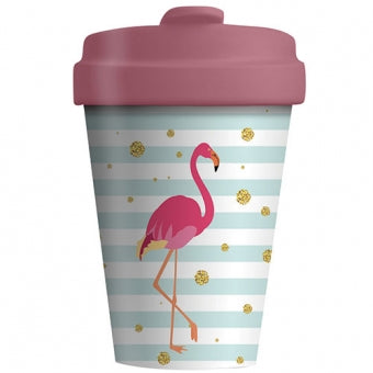 Bamboo Cup - Flamingo - Schmidt's Papeterie