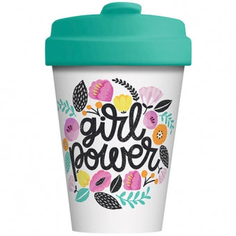 Bamboo Cup - Girl Power - Schmidt's Papeterie