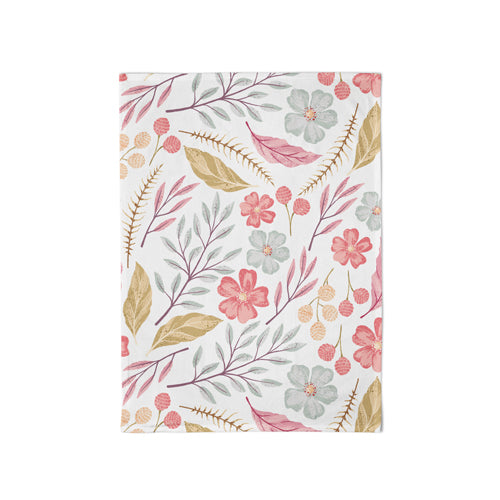 Organic Kitchen Towel Autumn Leaves - Schmidt's Papeterie