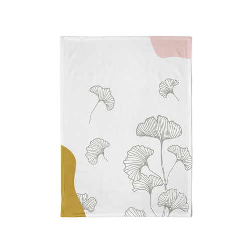 Organic Kitchen Towel Gingko - Schmidt's Papeterie