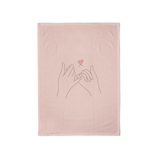 Organic Kitchen Towel Pinkie Promise - Schmidt's Papeterie