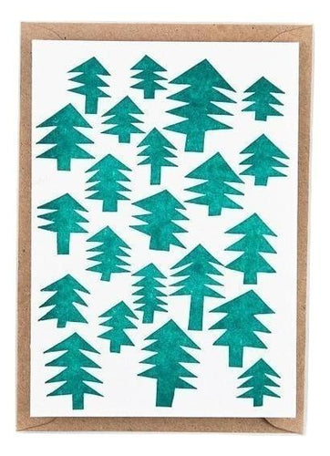 Christmas Trees Pattern - Schmidt's Papeterie