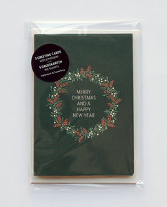 Christmas Wreath (5er-Set) - Schmidt's Papeterie
