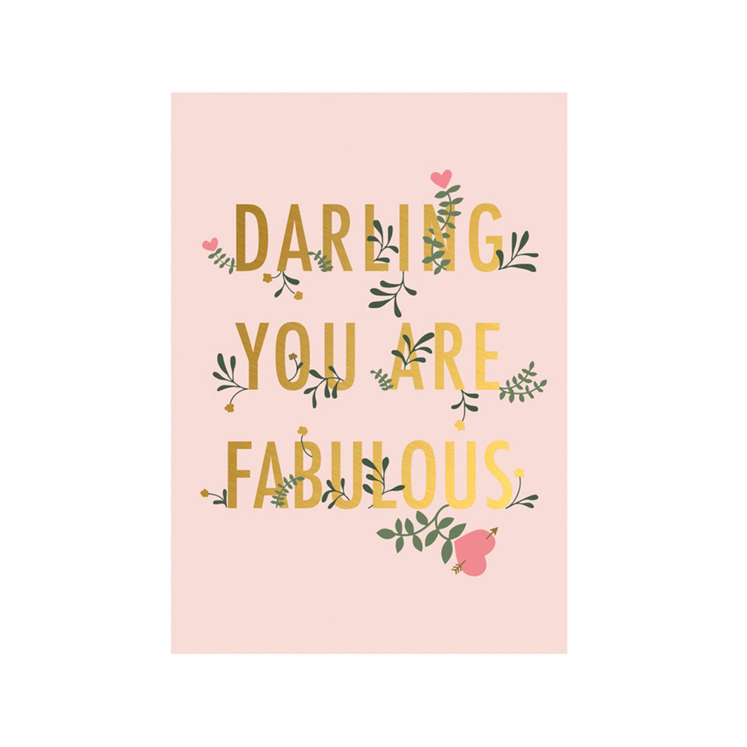Darling you are fabulous - Schmidt's Papeterie