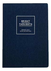 Diary/Notebook Hardcover - Bright Thoughts - Schmidt's Papeterie