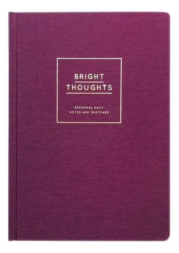 Diary/Notebook Hardcover - Bright Thoughts Product Navucko