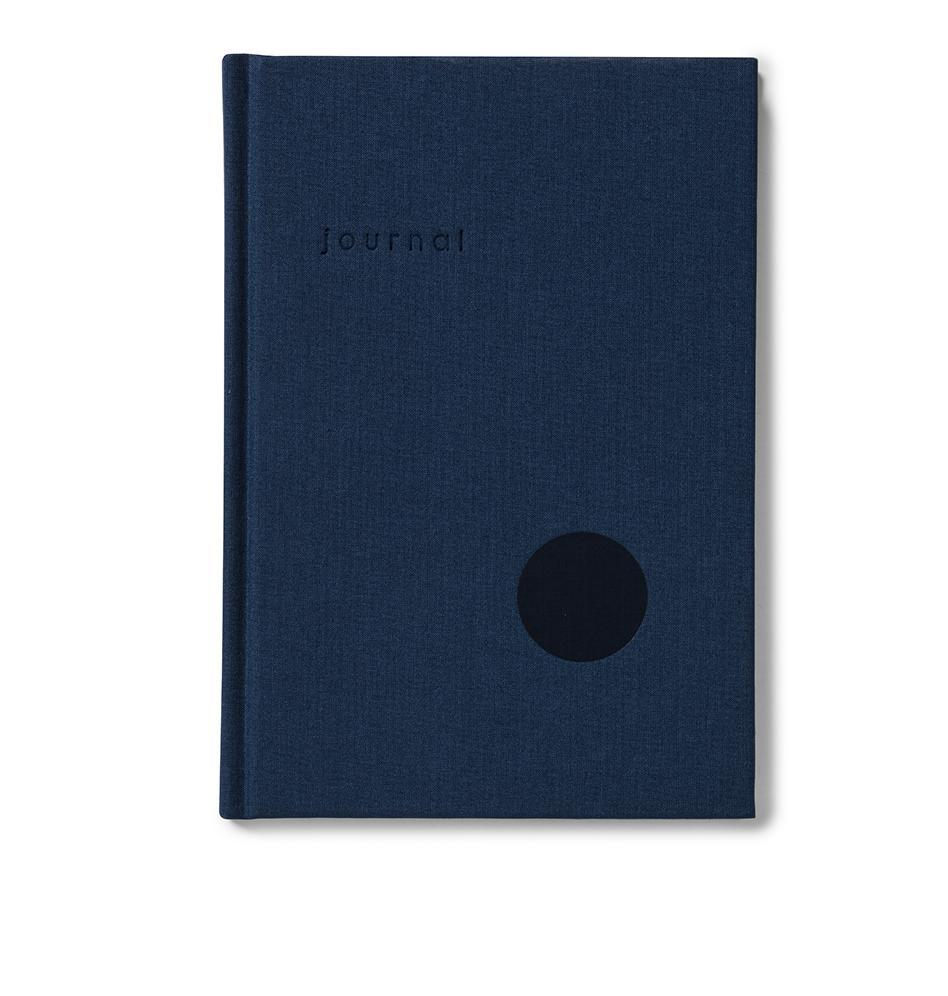 Hardcover Notebook Dot Journal Navy - Schmidt's Papeterie