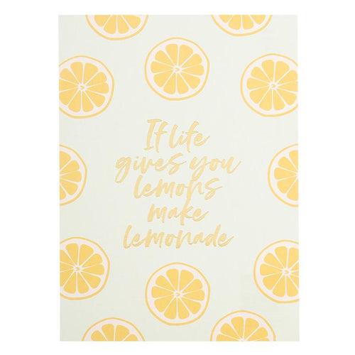 If life gives you lemons - Schmidt's Papeterie