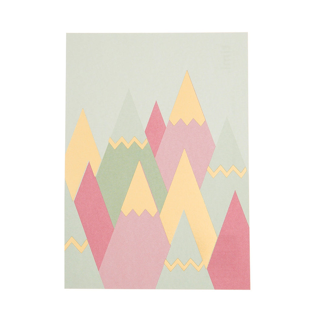 Mountains Gold Foil - Schmidt's Papeterie