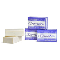 5 bars of DermaZinc Zinc Based soap that helps chronic skin conditions such as eczema