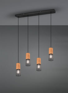 Tosh - 4 Light Pendant