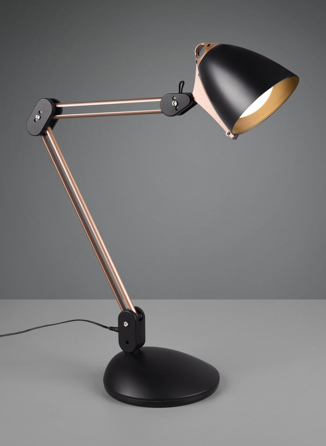 Nadal - Copper & Black Desk Lamp