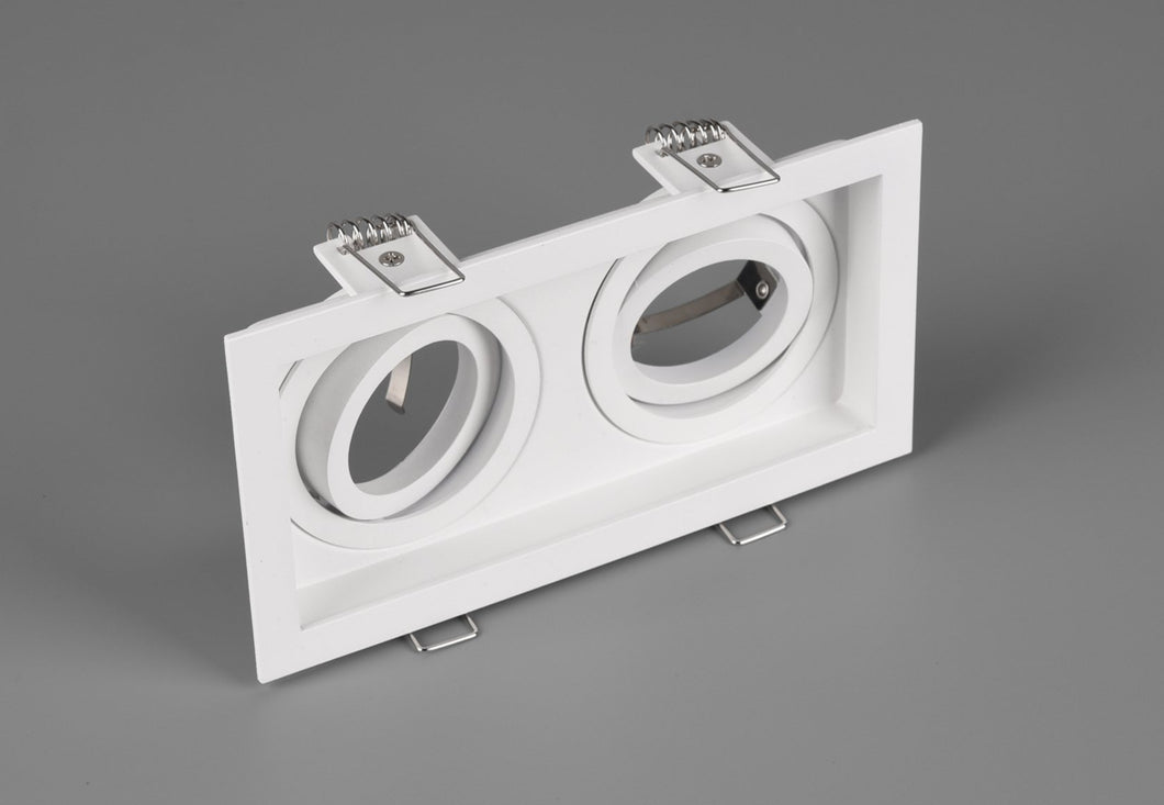 Kenai - Twin Recessed White